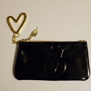 Victoria's Secret Small Zipper Bag with Key ring